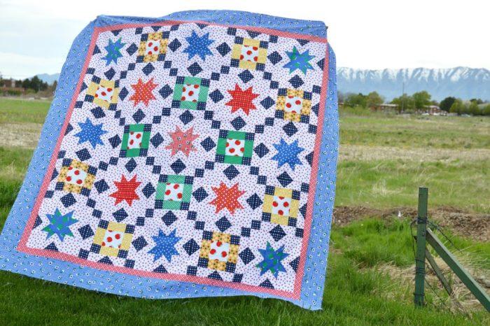 Sunnyside Ave fabrics quilt pattern