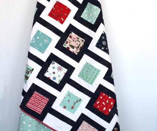 Amy Smart modern quilt pattern Chain Link
