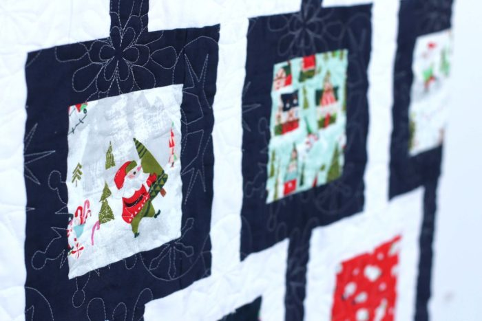 Fussy Cut Christmas Fabric - Way Up North from Riley Blake Designs