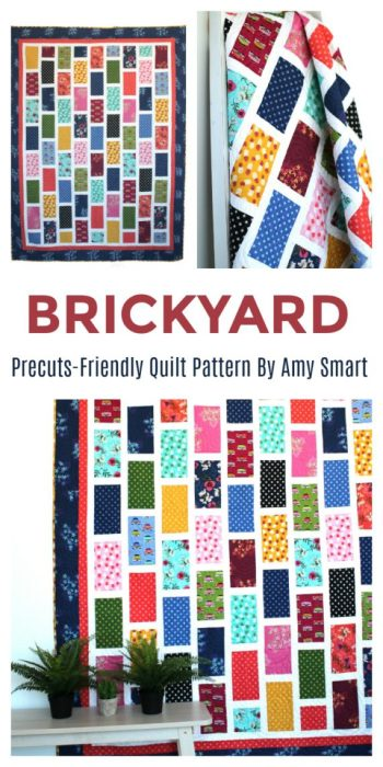 Precuts-friendly Quilt Pattern by Amy Smart