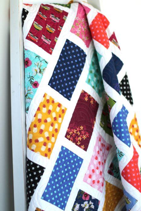 Havana Fabric Brickyard Quilt Pattern