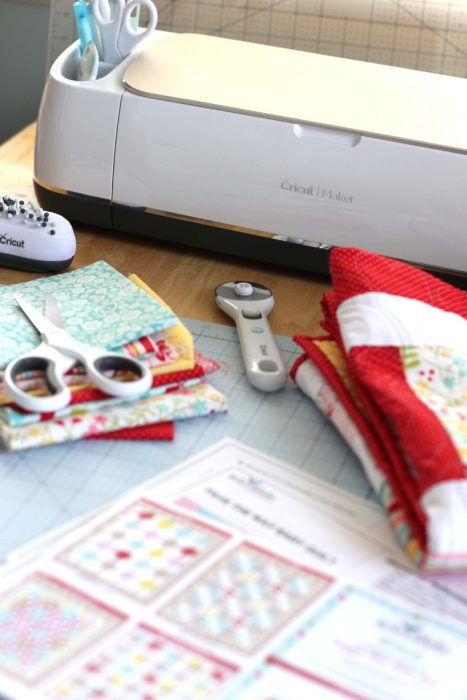 Making a quilt with the Cricut Maker
