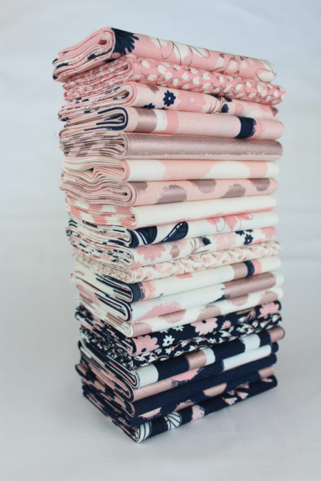 Rose Gold Blush Fabric by Jen Allyson for Riley Blake