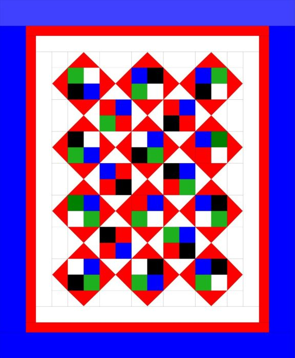 Simple Modern Twin Quilt Tutorial Diary of a Quilter