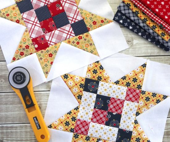 Amy Smart Meet the Maker quilt block tutorials by Riley Blake