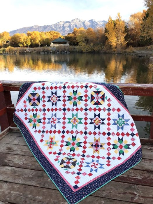 Free Sampler Quilt pattern from Amy Smart and Riley Blake Designs