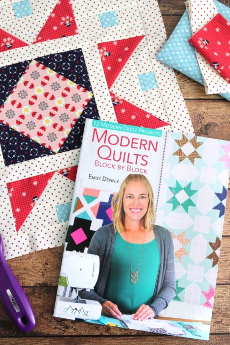 Modern Quilts By Emily Dennis Diary Of A Quilter A Quilt