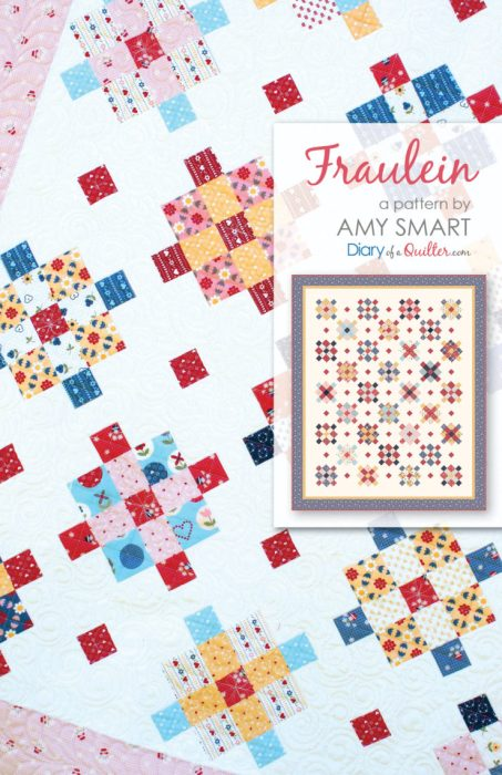 Precuts friendly scrappy quilt pattern by Amy Smart