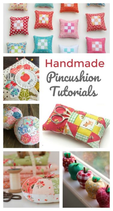 Gift Ideas for Quilters - Handmade Pin Cushion Tutorials