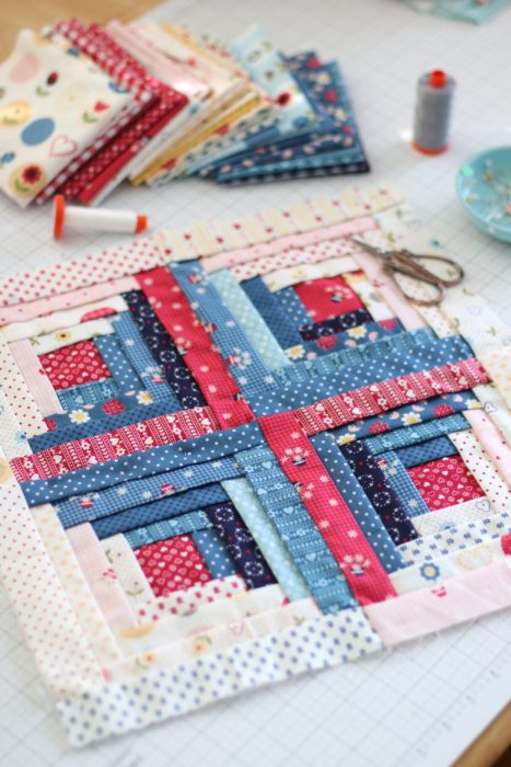 How To Make A Manx Quilt Block Tutorials Diary Of A Quilter