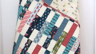Offshore Crib Quilt Tutorial for Precuts