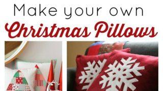 Christmas Pillow Tutorials