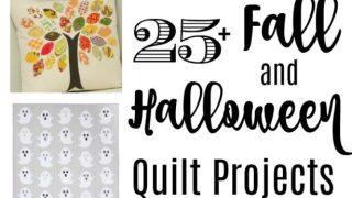 Fall and Halloween Inspired Quilts and Tutorials