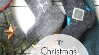 Easy Stockings from old sweaters