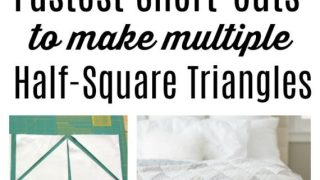 Make multiple Half Square Triangles at Once