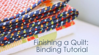 How to Finish and Bind a Quilt - Diary of a Quilter - a quilt blog