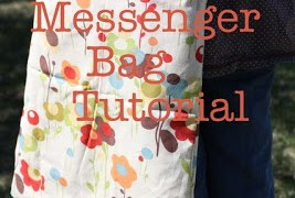 The 32-minute messenger bag tutorial - Diary of a Quilter - a quilt blog