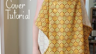 Nursing Cover Tutorial - Diary of a Quilter - a quilt blog