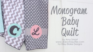 Quick and Easy Baby Quilt tutorial - Diary of a Quilter - a quilt blog