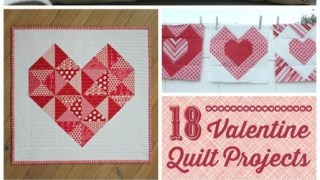 Valentine's Quilt Projects
