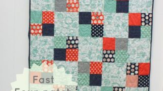 Fast Four-Patch Quilt Tutorial