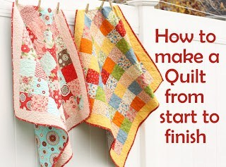 10 Steps to make a baby quilt from start to finish