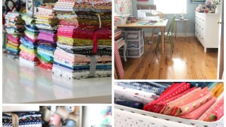 Quilting and Fabric Organization and Planning tips