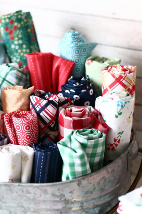 Sugarhouse Park Fabric Collection featured by top US quilting blog Diary of a Quilter