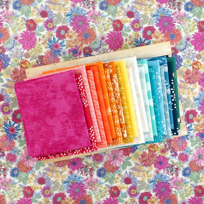 Pink Castle Fabrics featured by top US quilting blog Diary of a Quilter