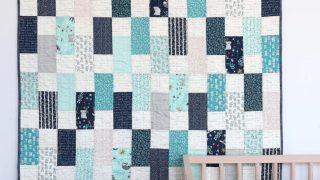Bricks Baby Quilt Tutorial | quilting