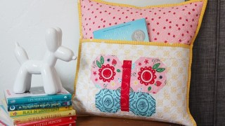 Butterfly Reading Pillow by Melanie Colette