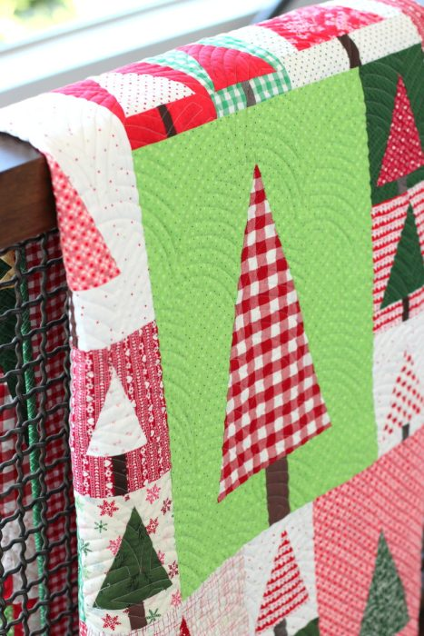 Shop Sale from Sew Shabby Quilting + Giveaway by popular Utah quilting blog, Diary of a Quilter: image of a pine hollow quilt.