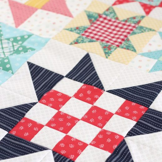 Jelly Filled Precut Strip Quilt Patterns book reviewed by top US quilting blog, Diary of a Quilter