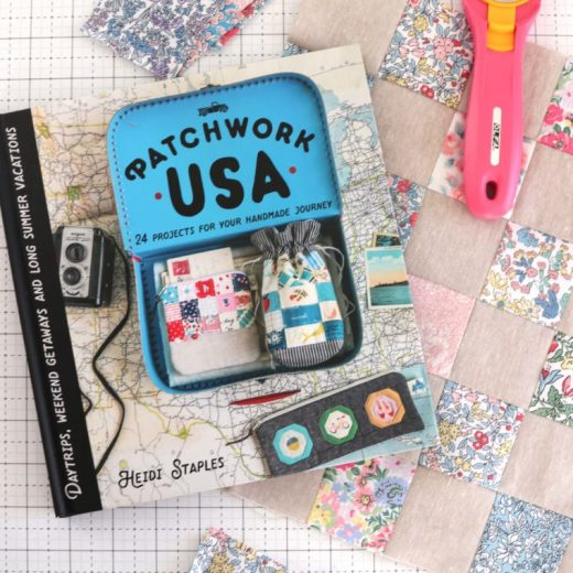 Patchwork USA pattern book, featured by top US quilting blog, Diary of a Quilter