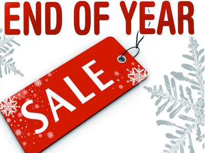 End of Year Clearance Quilting Sales For 2019 by popular Utah quilting blog, Diary of a Quilter: graphic image for an end of year sale.