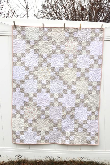 Low Volume Nine Patch Quilt
