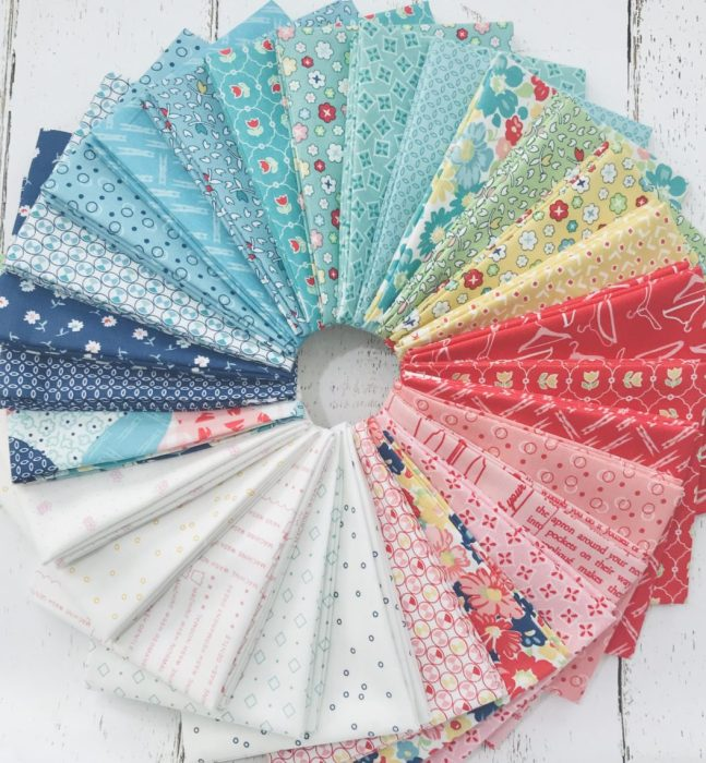 Lori Holt Vintage Happy 2 Fat Quarter Bundle from Simply Love Fabrics