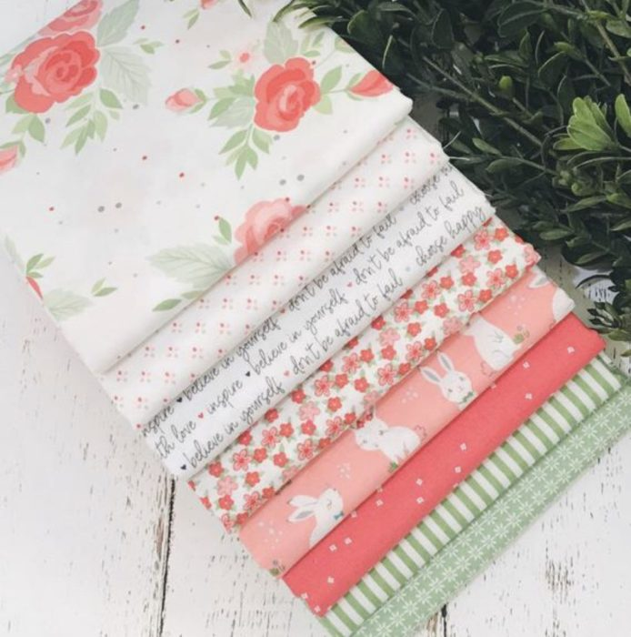 custom Winifred Rose fabric bundle from Simply Love Fabrics