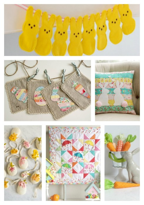 Free tutorials for Spring and Easter Sewing