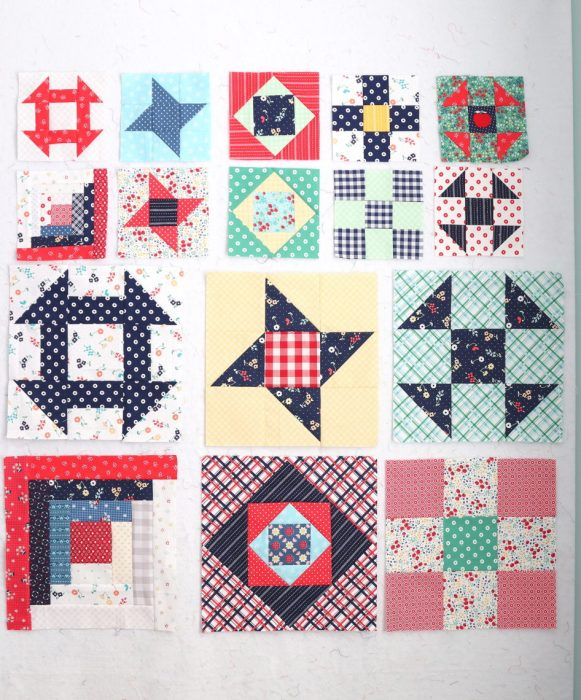 Traditional Quilt block tutorials - part of the Riley Blake Design Challenge