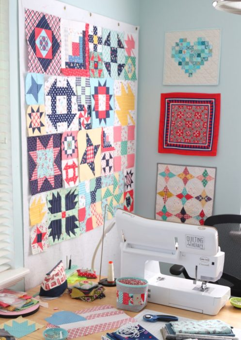 Quilting Design Wall options - portable versions or make your own