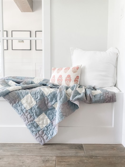 How to make a Buffalo Check Patchwork Quilt