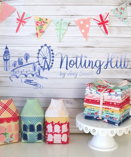 Notting Hill fabric designed by Amy Smart for Riley Blake Designs