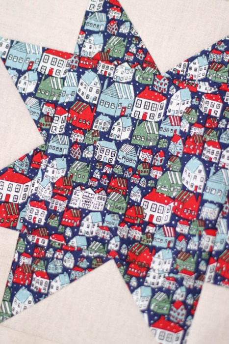 Yule Town Liberty of London Christmas fabric
