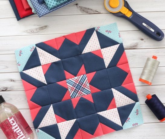 Quilt Block Challenge + Tips for piecing intricate quilt blocks
