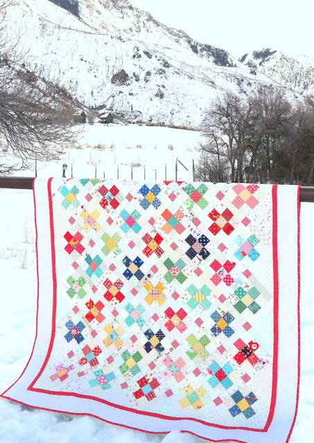 County Fair Scrap Quilt pattern by Amy Smart - Diary of a Quilter