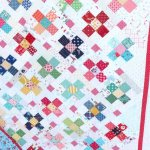 Scrap Quilt - Nine Patch block - Pattern by Amy Smart - perfect for fussy-cut squares