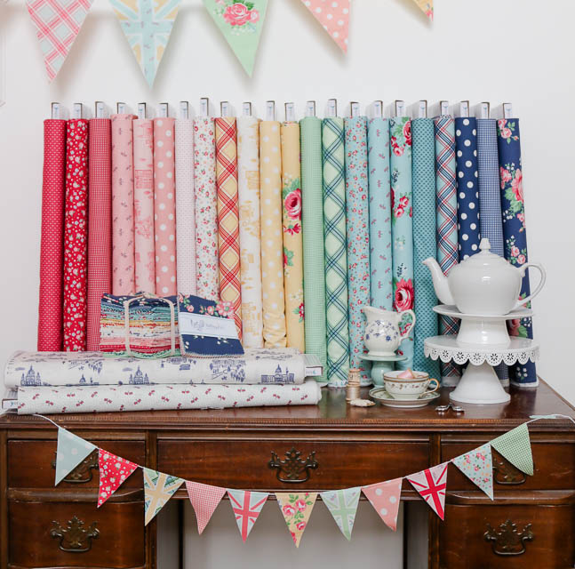 Notting Hill Fabric collection by Amy Smart for Riley Blake Designs