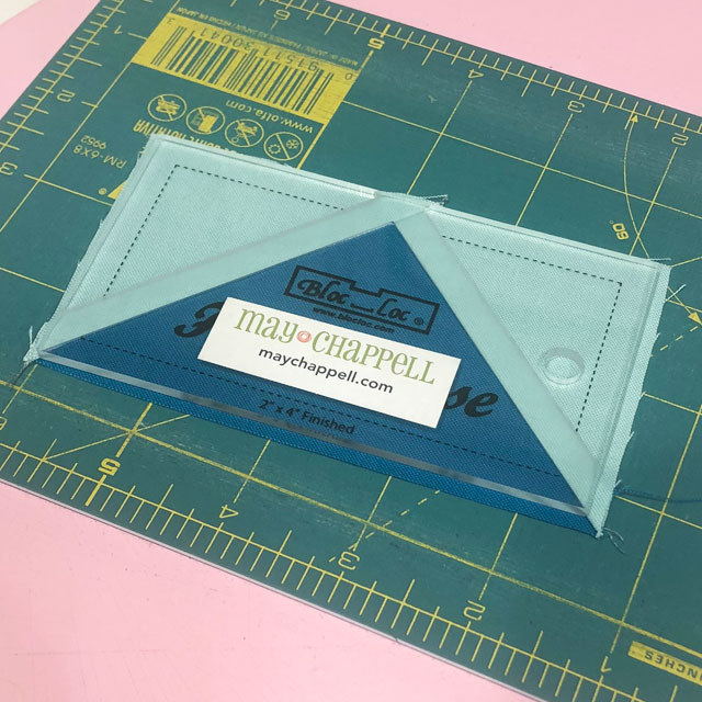Tips for accurate Quilt Piecing - trimming