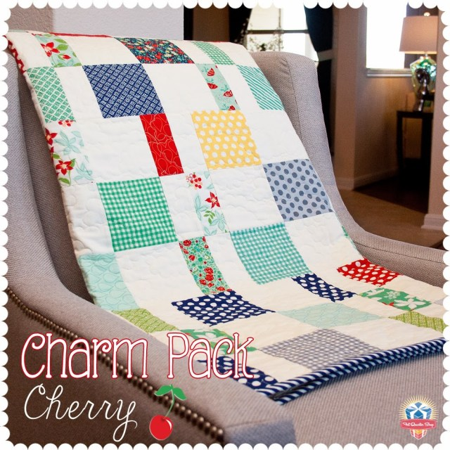 Free Charm Pack quilt pattern PDF from the Fat Quarter Shop